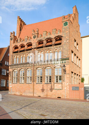 Archidiakonat, Wismar, Mecklenburg-Vorpommern, Germany - Stock Photo