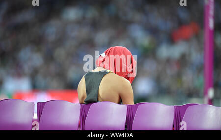 London, Britain. 13th Aug, 2017. Leichtathletik: IAAF Weltmeisterschaft am 13.08.2017 im Olympiastadion in London - Stock Photo