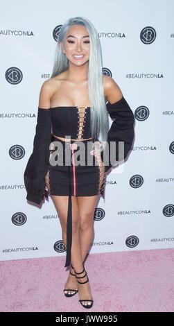 Los Angeles,USA. 13th Aug,2017. Nikita Dragun arrives 5th Annual Beautycon Festival Los Angeles Los Angeles Convention - Stock Photo
