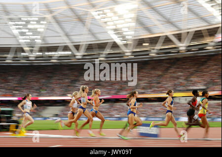 Great Britain's Eilish McColgan during 1500m Women's Final during day ten of the 2017 IAAF World Championships at - Stock Photo