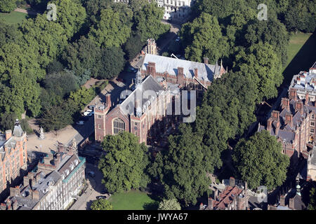 aerial view of Lincoln's Inn Field, London WC2A, UK - Stock Photo
