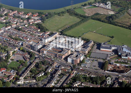 aerial view of Broughton Place, Manston Court, Walthamstow, London, UK - Stock Photo