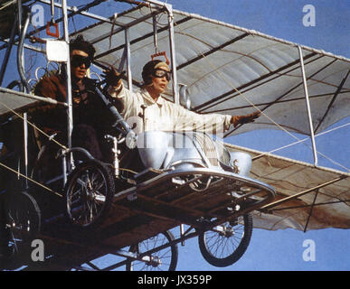 THOSE MAGNIFICENT MEN IN THEIR FLYING MACHINES 1965 20th Century Fox film with Sarah Miles and Stuart Whitman - Stock Photo