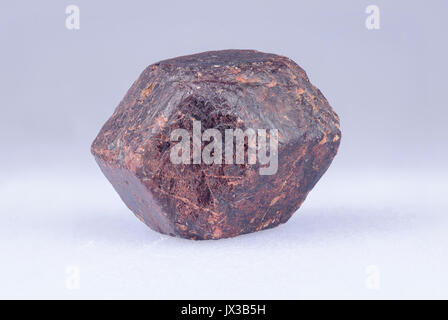 Garnet crystal from Mt Riddick, Northern territory, Australia - Stock Photo