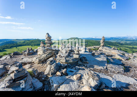 France, Ardeche, parc naturel regional des Monts d'Ardeche (Regional natural reserve of the Mounts of Ardeche), - Stock Photo