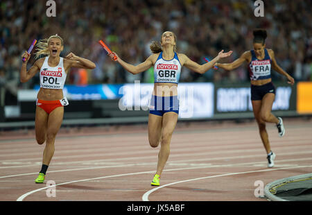 London, UK. 13th Aug, 2017. during the Final Day of the IAAF World Athletics Championships (Day 10) at the Olympic - Stock Photo