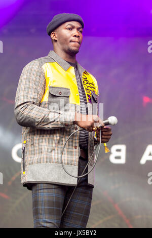 August 13, 2017 - San Francisco, California, U.S - JACOB BANKS during the Outside Lands Music Festival at Golden - Stock Photo