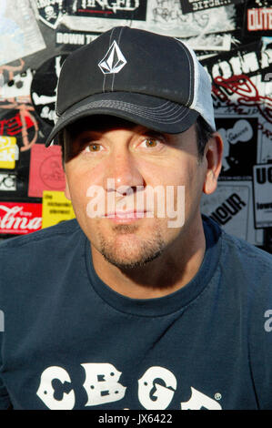 Jim Lindberg,singer Pennywise author 'Punk Rock Dad' Key Club Los Angeles - Stock Photo