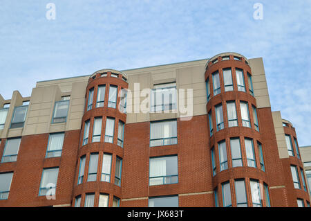 Modern condo buildings in Cote Saint-Luc, Canada - Stock Photo