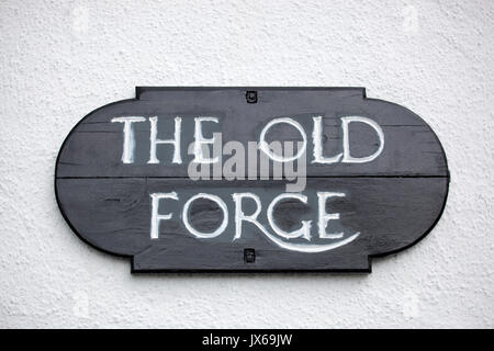 The Old Forge is mainland Britain's and Scotland's remotest pub - Stock Photo