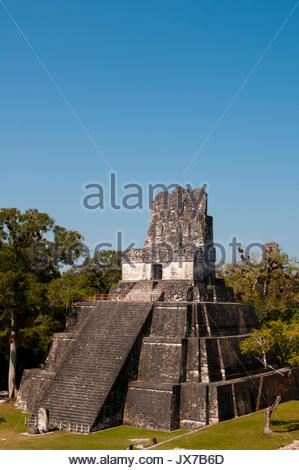 A view of Temple II. - Stock Photo