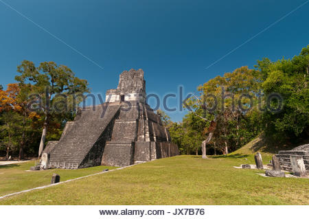 A view of the Temple II. - Stock Photo