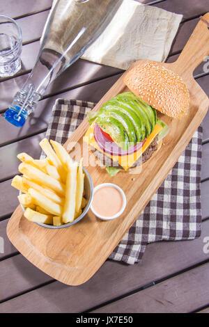 ham burger - Stock Photo
