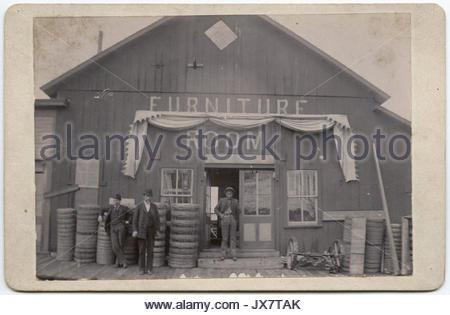 Furniture Room Store, Sherman, Texas   Stock Photo