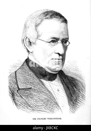 CHARLES WHEATSTONE (1802-1875) English scientist and inventor - Stock Photo