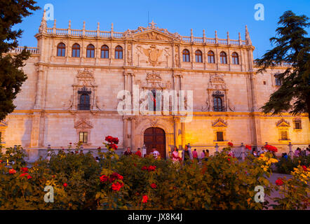 Universidad de Alcalá de Henares. Madrid. España. Patrimonio mundial de la UNESCO. - Stock Photo