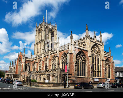 Hull Minster in the Old Town at Hull Yorkshire England - Stock Photo