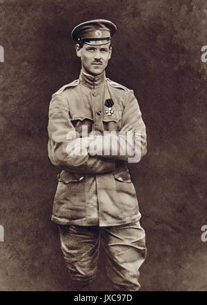 Grand Duke Michael Alexandrovich, the reluctant Tsar - Stock Photo