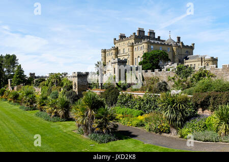 Culzean Castle, near Ayr, Ayrshire, Scotland, UK - Stock Photo