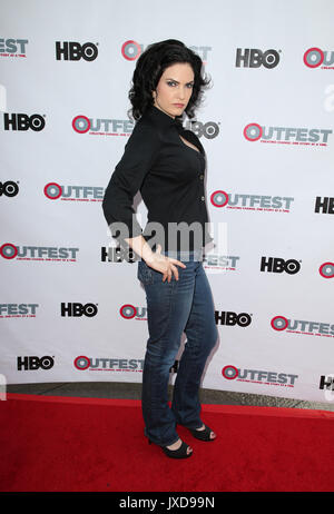 2017 Outfest Los Angeles LGBT Film Festival - Screening of 'Strangers' The Series  Featuring: Jill Bennett Where: - Stock Photo