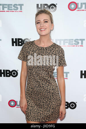 2017 Outfest Los Angeles LGBT Film Festival - Screening of 'Strangers' The Series  Featuring: Meredith Hagner Where: - Stock Photo