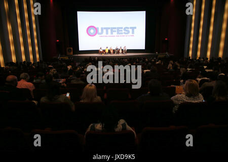 2017 Outfest Los Angeles LGBT Film Festival - Screening of 'Strangers' The Series  Featuring: Atmosphere Where: - Stock Photo