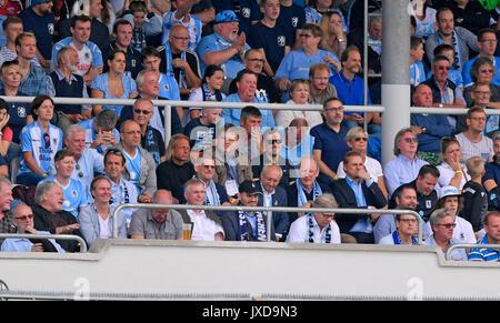 13.08.2017, Fussball DFB Pokal 2017/2018, 1. Runde, TSV 1860 München - FC Ingolstadt 04, im Städtischen Stadion an der Grünwalderstrasse in München. Ehrengäste Löwen.  Photo: Cronos/MIS