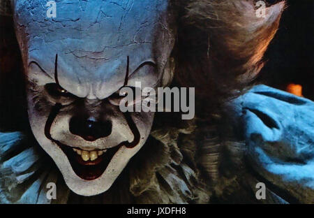 IT 2017 New Line Cinema film with Bill Skarsgård - Stock Photo
