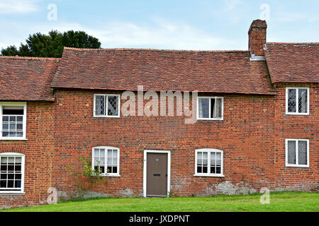 The 18th century shipbuilding village, Bucklers Hard, Beaulieu, New Forest, England. - Stock Photo