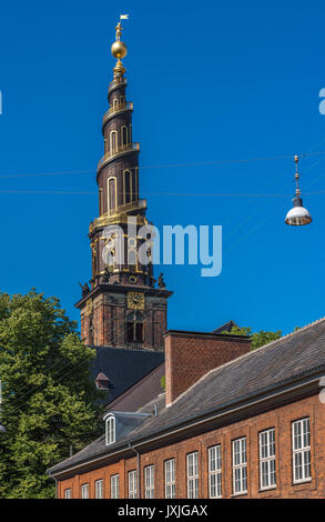 Church of Our Saviour, Copenhagen, Denmark - Stock Photo