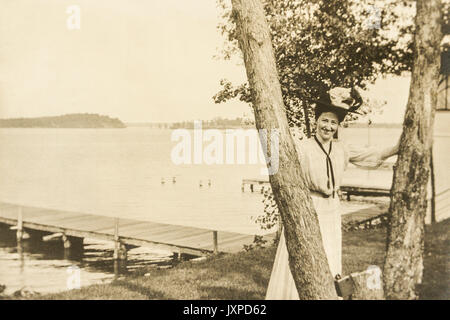 Scenes from Minnesota 1907-1908 - Stock Photo