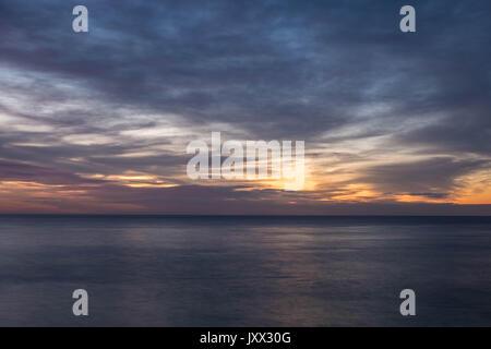 Bondi Beach, Sydney, Australia Sunrise - Stock Photo