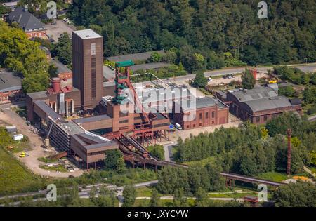 PACT Zollverein, art shaft Zollverein Thomas Rother, area World Heritage Zollverein Essen, Essen, area Ruhr, North - Stock Photo