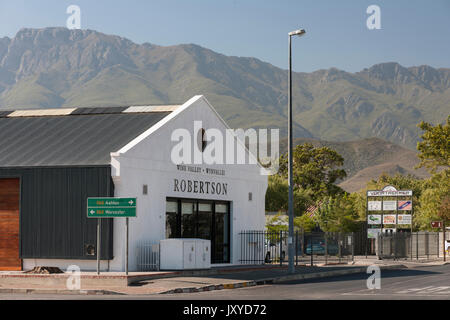 Robertson, Western Cape, South Africa. - Stock Photo
