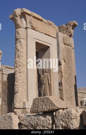 RUINS AT PERSEPOLIS, IRAN - Stock Photo