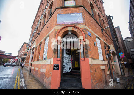 Afflecks Palace in Manchester City Centre for alternative music and clothes shopping. Photo by Fabio De Paola - Stock Photo