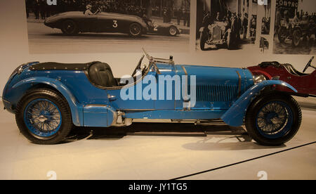 1937 Alfa Romeo 8C2300 Le Mans Touring at the Louwman Museum, The Hague, Netherlands - Stock Photo