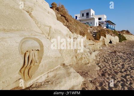 Greece, Aegean Islands, karpathos island, Lefkos village - Stock Photo