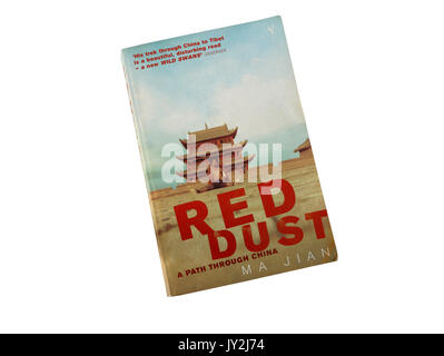 Red Dust by Ma Jian, Paperback book - Stock Photo