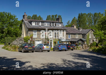 The Llanerch Inn Llandrindod Wells Powys Wales UK - Stock Photo