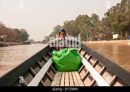 Inle lake - Myanmar - Stock Photo