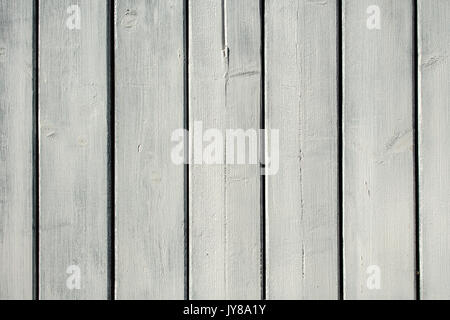 Whitewash painted wooden panel strips. - Stock Photo