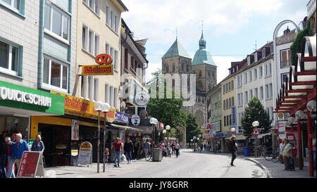 Town of Osnabruck, Germany, EU - Stock Photo