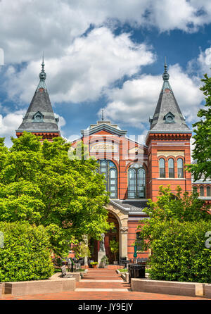 Arts and Industries Building of the Smithsonian museums in Washington, D.C. - Stock Photo