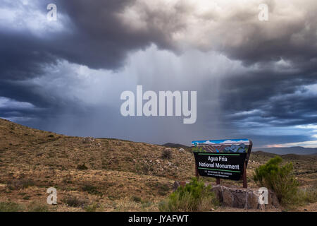 Agua Fria National Monument, Arizona, USA - Stock Photo