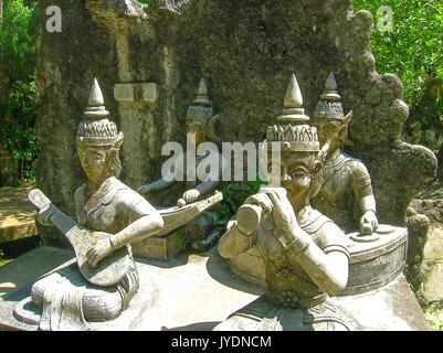 Koh Samui, Thailand - June 21, 2008: Tanim magic Buddha garden, Koh Samui island - Stock Photo