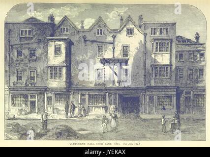 ONL (1887) 1.127   Oldbourne Hall, Shoe Lane, 1823 - Stock Photo