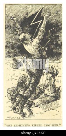 MARK TWAIN(1883) p061   THE LIGHTNING KILLED TWO MEN - Stock Photo