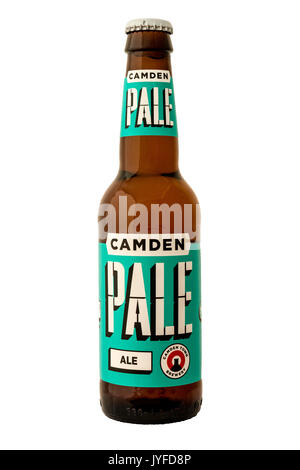 Camden Town Brewery - Pale Ale Bottled Beer. - Stock Photo