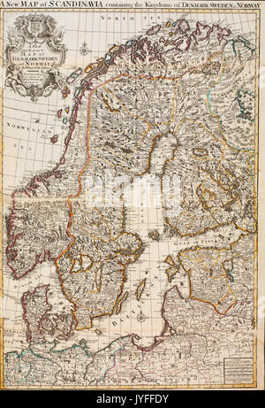 Old Map Of Denmark Norway And Sweden Focus Is On Denmark Map Is - Sweden new map